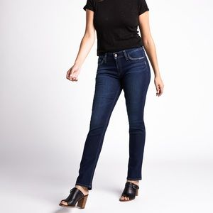 Silver Jeans / Elyse Mid Rise Straight - Sz. 31x32